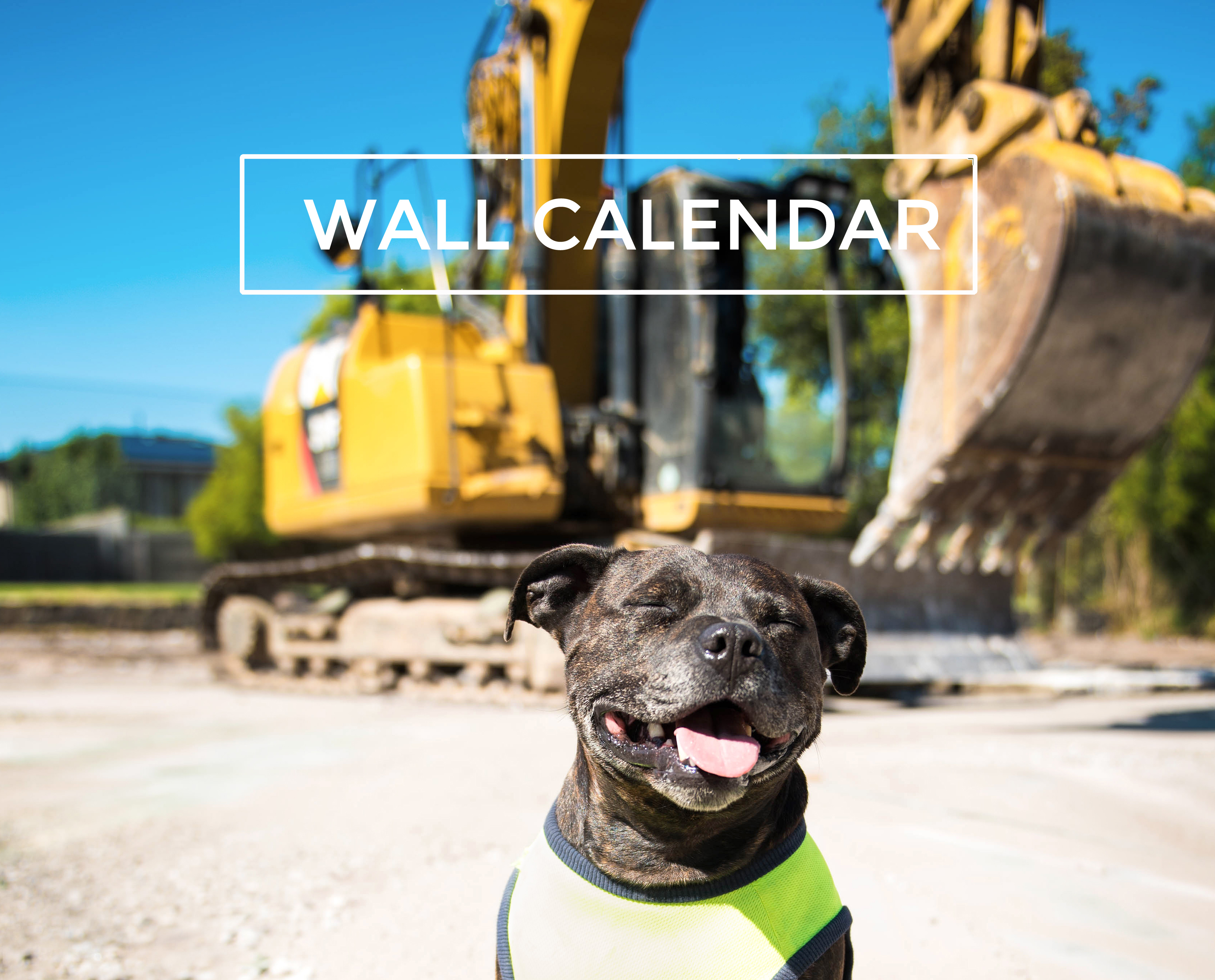 Staffordshire Bull Terrier Wall Calendar