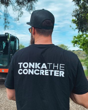 concreting tshirt workwear
