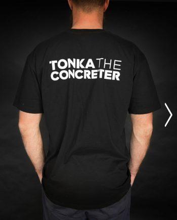 concreting tshirt workwear