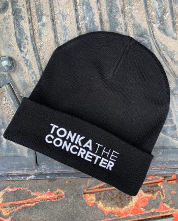 concreting kids beanie